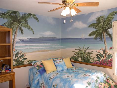 tropical bedroom ideas kids