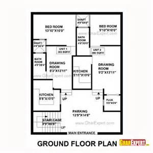 house map design 30 x 40 house plan for 33 feet by 40 feet plot plot size 147