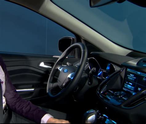 Ford Escape 2013 Interior by 2013 Ford Escape Interior Teased Photos 1 Of 7
