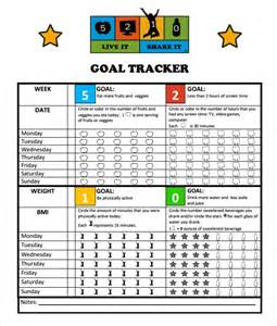 Goal Tracker Template by Goal Tracking Template 9 Free Documents In Pdf