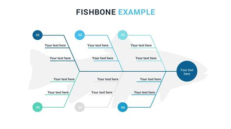 fish bone analysis template fishbone diagram free powerpoint presentation template