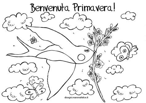 fiori da stare e colorare per bambini disegni di primavera da colorare e stare primavera 14