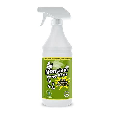 what neutralizes urine monsieur poopy pet stain urine neutralizer 32 oz