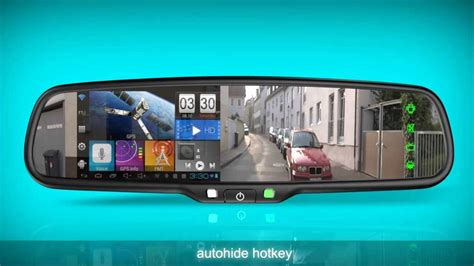 android mirror germid android gps rear view mirror jn 045la doovi