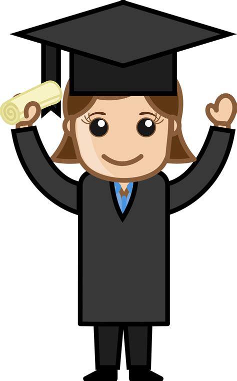 photos clipart graduation clip black and white