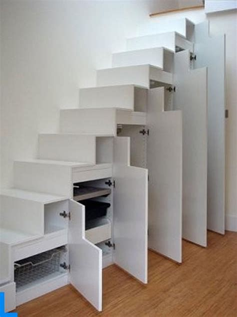 storage stairs 25 space saving ideas staircase storage solutions