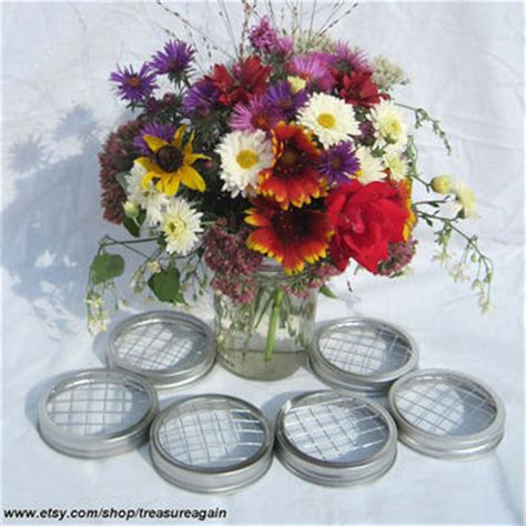 diy flowers 6 wide ball jar centerpiece from treasureagain