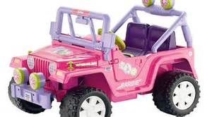 Pink Power Wheels Jeep Mish Lovin Tales From A Spoiled Rotten Brat