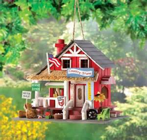 charming country store wooden birdhouse eclectic