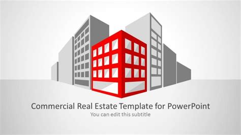 commercial real estate template for powerpoint slidemodel