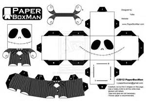 paperboxman 003 jack skellington by paperboxman on
