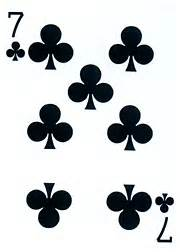 Card connections seven of clubs
