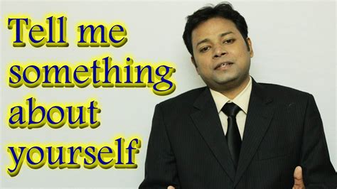 Tell Me Something About Yourself Sle Answer Mba by Tell Me Something About Yourself Best