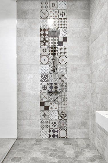 piastrelle decorate per bagno piastrelle effetto cemento 80 215 80 per il bagno e piastrelle