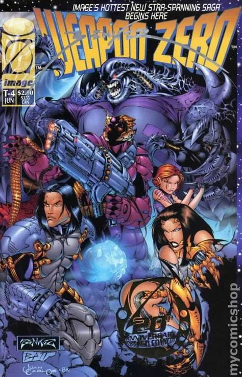 Rogue 1995 1st Series Autographed weapon zero 1995 1st series special edition autographed comic books
