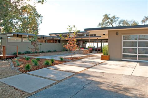mid century modern homes exterior our 1954 mid century ranch home napa ca midcentury