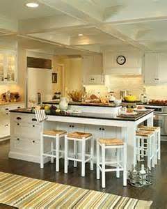 Kitchen Center Island With Seating Hamptons Style Kitchen Interior Design Ideas Style