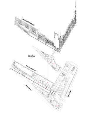st pancras floor plan st pancras renaissance london hotel by rhwl and richard