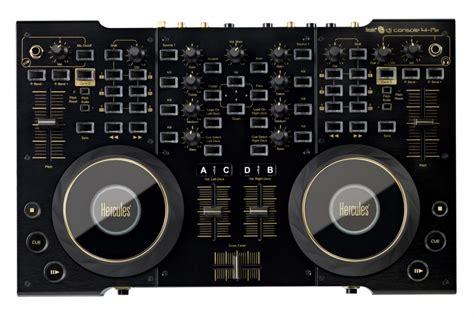 consol da dj dj console 4 mx black hercules dj console 4 mx black