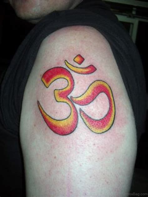 om symbol tattoo 50 looking om tattoos for shoulder