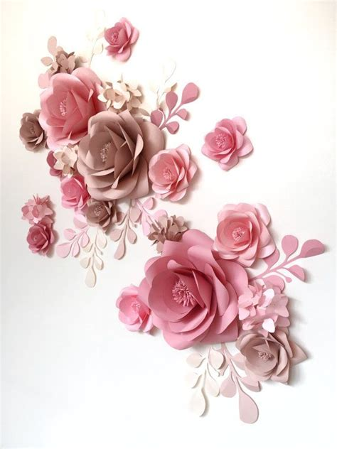 Paper Flower Designs - 25 best ideas about flower wall decor on