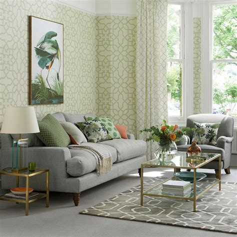 Green Living Room Furniture by Green Living Room Ideas For Soothing Sophisticated Spaces