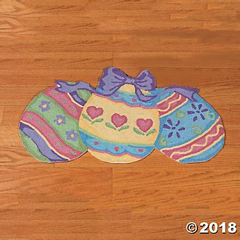 easter rugs hooked easter egg rug trading discontinued