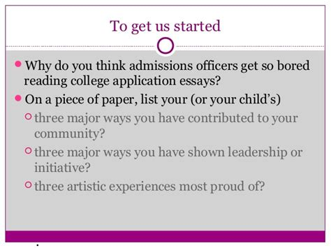College Application Essay Reader Do Colleges Actually Read Your Essay The Education Issue