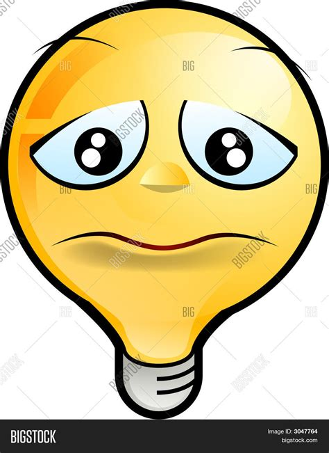 blue light bulbs for sad lighting icon sad stock photo stock images bigstock