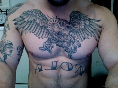 tattoo chest eagle 60 graceful eagle tattoos on chest