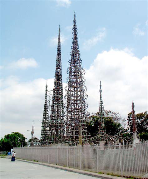watts towers wikipedia