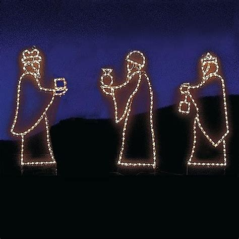 wise men display outdoor christmas decorations