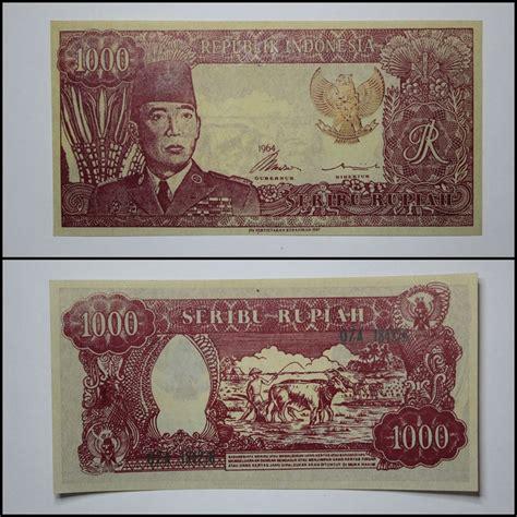 Uang Sukarnoe Tahun 1964 sentra uang kuno seri uang souvenir soekarno