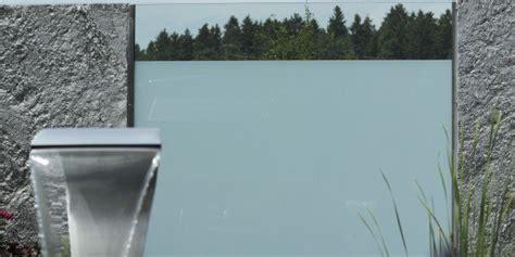 Zaun Aus Glas by Sichtschutz Aus Glas Fachgerecht Montiert Zaunteam