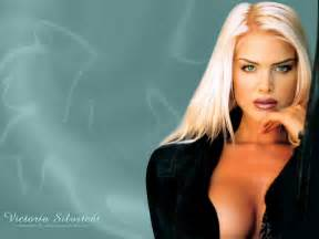 Desktop wallpapers of victoria silvstedt pictures to pin on pinterest