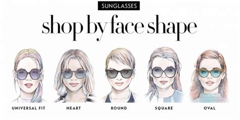 determine face shape online how to find the sunglasses style that suit your face shape