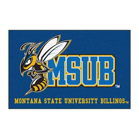 fanmats ncaa montana state billings blue 1 ft