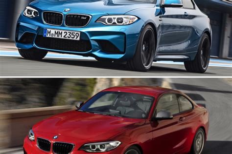 How Much Does A Bmw M2 Cost by Technical Comparison Bmw M2 Vs M235i