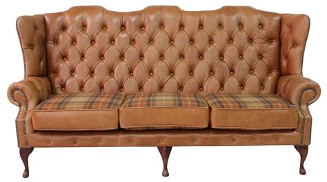 High Back Chesterfield Sofa by Chesterfield 3 Seater High Back Sofa Designersofas4u