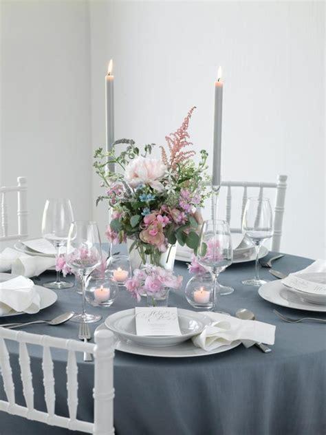 Tischdeko Hochzeit Grau by Galerie Tischdekoration F 252 R Die Hochzeit 252 Ber 250