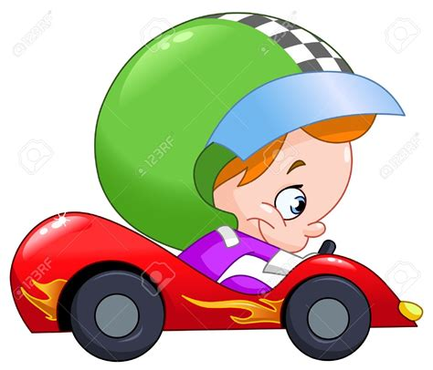 cartoon race car 43 race car number clip art