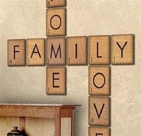 make words with scrabble letters make your own wall diy scrabble letters