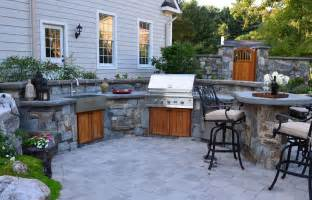 beautiful Do It Yourself Outdoor Kitchens #1: 2-stone-farm-sink-2.jpg