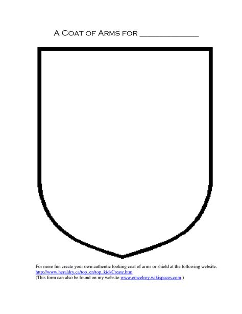 create a coat of arms template 10 shield design template images blank shield