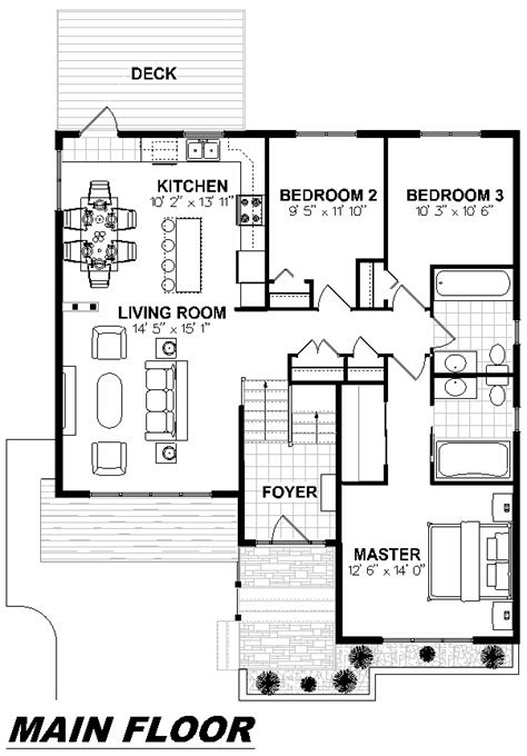 main floor plans ec designs inc 187 1020 the gander