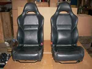 rsx type s seats rsx dc5 type s black leather seats mint front only