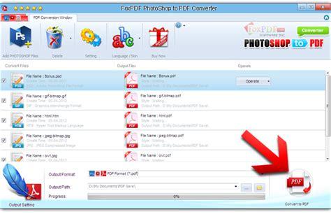 photoshop tutorial pdf file foxpdf photoshop to pdf converter photoshop to pdf