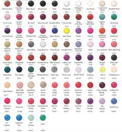 opi nail polish color chart viewing gallery