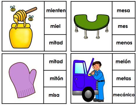 imagenes que empiecen con la letra bra letra m silabas ma me mi mo mu spanish teaching