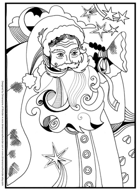 santa around the world coloring pages coloring pages
